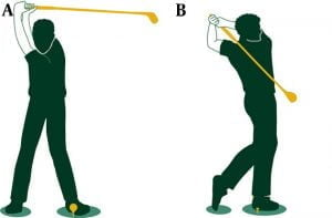 Franson chiropractic for back pain caused by golf